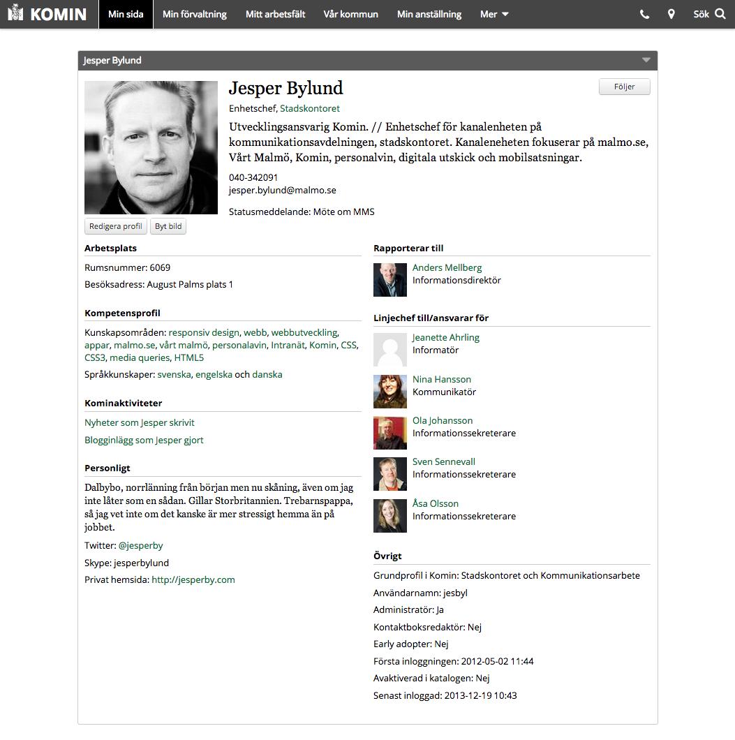 Examples: Employee Directory